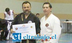 Semanas atrás el Maestro Oscar 'Toti' Contreras recibió el título de Mejor Competidor de Todos los tiempos en las artes marciales de Chile.