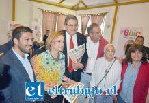 Carolina Goic visitó la comuna de San Felipe, donde expuso parte de su propuesta de gobierno.