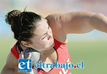 Natalia Ducó ganó la medalla de oro en el lanzamiento de la Bala en los Juegos Bolivarianos que tienen como país sede a Colombia.