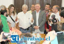 En su visita a Panquehue, Sebastián Piñera se comprometió a estudiar el proyecto de construcción del embalse de Catemu, obra que estaría perjudicando los recursos hídricos de la comuna, como asimismo fortalecer el programa de construcción de viviendas sociales.