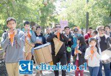 La tarde de ayer se dio por iniciado el encuentro de orquestas, las cuales se reunieron en la Plaza Prat.