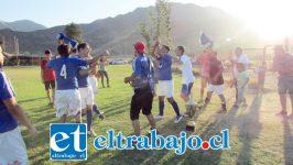 El Complejo Las Tres canchas fue el escenario donde Juventud La Troya alcanzó un inédito tetracampeonato en el fútbol aficionado local.