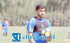 El lateral derecho Francisco Bahamondes tiene plena confianza en que se convertirá en un aporte para la escuadra sanfelipeña.