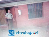 Vecinos de Villa Argelia requirieron la presencia de Carabineros en el domicilio del adulto mayor en Avenida Chile, la tarde de este viernes. En esta vivienda vivía 'El Palito' Tapia.