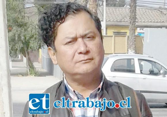 José Vergara Millaqueo, Presidente Provincial del PS.