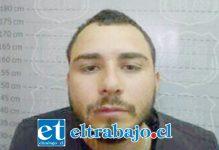 Nicolás Iturreta Leiva, cuarto y último integrante de los reos prófugos desde la cárcel de San Felipe.