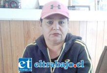 Juana Collao es la hermana de 'El Socito', quien actualmente se encuentra internado en el Hospital Psiquiátrico de Putaendo.