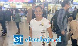 Ayer Natali Rosas partió rumbo a Sudáfrica para ser parte de una fecha del Circuito Mundial de Deporte Aventura.