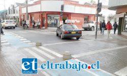 La intersección de las calles Arturo Prat con Traslaviña, donde se acumularía el agua según algunos malos presagios.