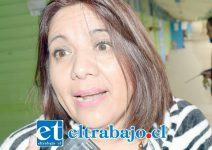 Ximena Baquedano, Directora de la escuela José de San Martín.