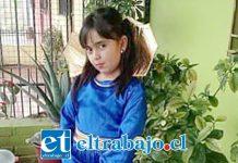 NUESTRO ANGELITO.- Ella es la princesita que voló a los cielos cuando apenas iniciaba su vida de sueños y proyectos estudiantiles.