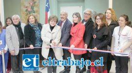 Autoridades dan por inaugurada la nueva Unidad de Atención Primaria Oftalmológica (UAPO) que atenderá a usuarios de San Felipe, Putaendo y Santa María.