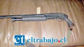 La escopeta utilizada por la víctima debió ser incautada por Carabineros para ser analizada formando parte de la investigación de los hechos encabezados por la Fiscalía.