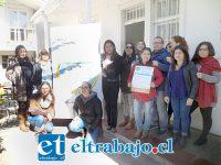 Equipo de profesionales que trabaja en el Programa FAE de San Felipe.