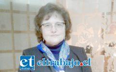 Enfermera Marcela Brito, directora del Departamento de Salud Municipal de San Felipe.