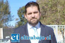 Nicolás Olivares, abogado defensor.