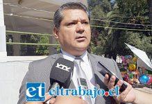 Comisario Gino Gutiérrez Cáceres, Jefe de la Brigada de Homicidios de la PDI de Los Andes.