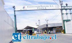 Frontis de la planta 2 de la Conservera Pentzke, ubicada en la avenida Manso de Velasco.