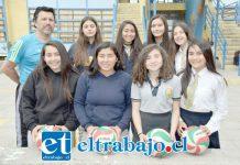 GARRA DE CAMPEONAS.- Aquí tenemos a las niñas U14 que defenderán el título de Campeonas en el Nacional de Vóleibol, en Viña del Mar.