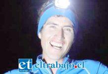 Luis Valle Barrientos, deportista que corrió 100 kilómetros para entregar un millón de pesos a un niño con cáncer.