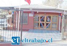 Frontis de la Oficina del APR Algarrobal, lugar del asalto.