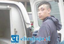 El antisocial de 19 años de edad fue detenido dos veces por Carabineros tras la comisión de delitos de robo ocurridos en menos de 24 horas en la comuna de Llay Llay.