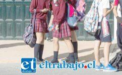 Las estudiantes denunciaron haber sido agredidas por la profesional, quien fue detenida por Carabineros de Putaendo. (Foto Referencial).