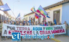 Para el SEA no importa la voz disidente de miles de persona que se oponen a la gran minería en Putaendo.