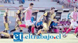 Unión San Felipe consiguió un agónico triunfo de 4 goles a 3 sobre el puntero Coquimbo Unido. (Foto: Jaime Solís)