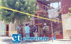 OTRA VEZ.- Una vez más la Villa San Alberto es escenario de un violento crimen que vuelve a afectar a ciudadanos de origen colombiano. (Foto archivo).