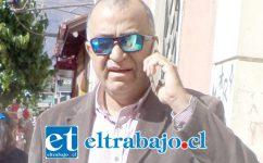 Danilo Arancibia Brante, concejal de Santa María.