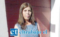 Érika Álvarez, presidenta de la Villa El Señorial.