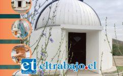 Este viernes será inaugurado el telescopio Bochum, el más grande de la Quinta Región, con un espejo de 60 centímetros de diámetro.