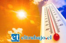 Santa María (37,7º), Llay Llay (37,6º) y San Felipe (37,0º) registraron las temperaturas más altas el día de ayer.