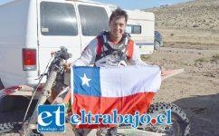 El piloto sanfelipeño Javier Pérez Potzsch, será parte de la carrera de motos más larga y extenuante del mundo.