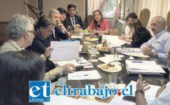 Wilta Berríos, directora del Liceo Corina Urbina, explicó en la sesión de concejo las principales características de la iniciativa, que contempla ser un apoyo para las familias que forman parte del establecimiento.