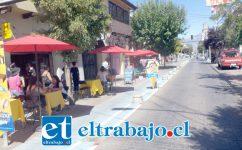 La gente respondió positivamente a la idea de boulevard, con mesas en las calles y actividades artísticas, lo que ha cambiado radicalmente la situación para la gente del rubro gastronómico.