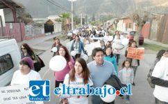 En diferentes oportunidades la familia y los vecinos han efectuado marchas exigiendo justicia por este crimen en las comunas de Llay Llay y San Felipe.