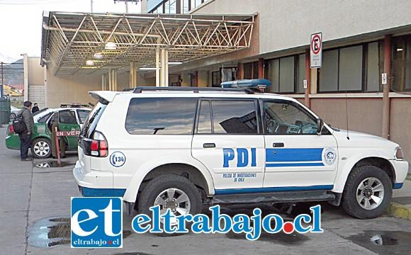 Informado el Fiscal de Turno dispuso que las diligencias quedaran a cargo de la Brigada de Homicidios de la PDI de Los Andes.