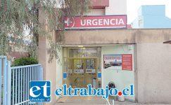 La paciente de 34 años de edad fue derivada este domingo hasta urgencias del Hospital San Camilo de San Felipe.