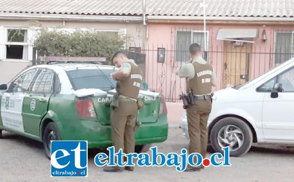 Al interior de una vivienda ubicada en Población Yungay de San Felipe, una mujer de 32 años de edad se habría suicidado la tarde de este sábado. (Fotografía:@aconcaguaradio).