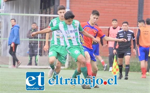 Trasandino estuvo lejos de conseguir el ascenso a la Segunda División.