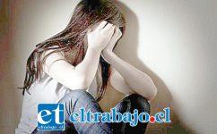 La menor reveló tiempo después a su madre de los delitos sexuales sufridos en el año 2012 en la comuna de Putaendo. (Foto Referencial).