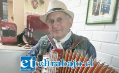 YA LE CONOCEMOS.- Volverá con su picardía al Valle de Aconcagua el gran Alejandro Chacair, artista sureño muy querido en estas tierras.