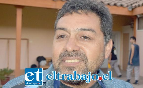 Coordinador de la Compañía Artística Putraintú y miembro de Putaendo Histórico, Gerardo Jara.
