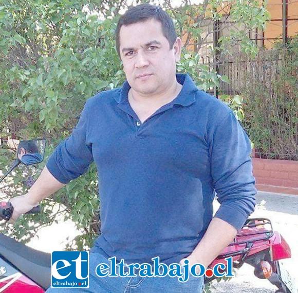 Gino Urbina Lobos, de 48 años de edad, conductor de motocicleta que falleció el 6 de agosto del 2017.