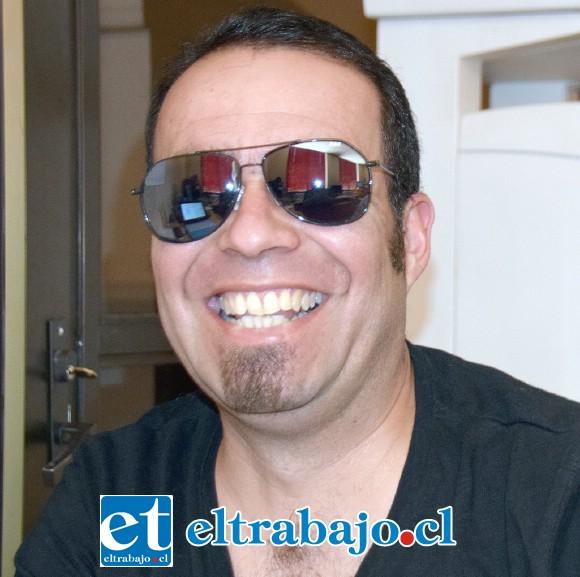 Sergio Meza, director de la Banda Rebenke.