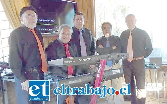 De izquierda a derecha: Pedro Carreño, Carlos Sotomayor, Pedro Iturrieta, Julio Aranda y Pepa Plaza.