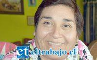 Francisca Donoso, vecina que ya no siente sus pies ni brazos por la diabetes.