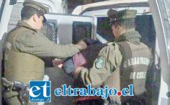 Los imputados fueron detenidos por Carabineros, quedando a disposición de la Fiscalía tras audiencia de control de detención en tribunales este domingo. (Foto Archivo).